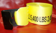 "4"" Cargo Strap 4"" x 30' - Flat Hook *Case of 10* Working Load 5,400 lbs."