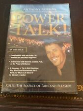 """Anthony Robbins - """"Powertalk!"""" - Rules: The Source of Pain & Pleasure - 2CDs"""