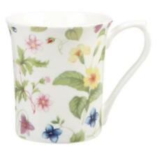 Porcelain Country Floral Mugs