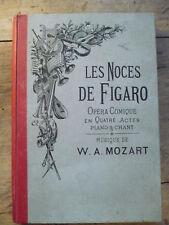 W. A. Mozart, Les noces de Figaro. Opéra comique en quatre actes