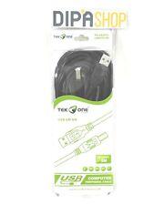 Cavo USB AM / BM TeKone TO-US207L Adattatore Stampante Scanner Lunghezza 5m hsb