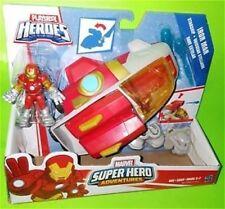 Playskool Marvel Super Hero Adventures STARSHIP IRON MAN Figure