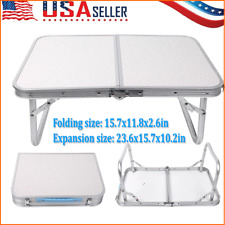 Folding Table Indoor Outdoor BBQ Portable Aluminum Picnic Party Camp Tables