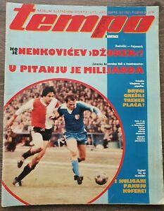 Magazine TEMPO 824 football Feyenoord Radnicki NIs announcement Yugoslavia 1981