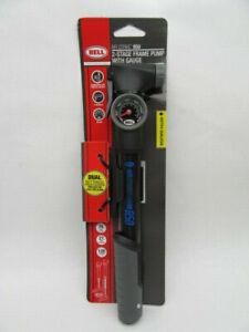 Bell Sports Airstrike 850 2-Stage High Volume/High Pressure Bicycle Frame Pump