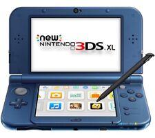 NEW 3DS XL Azul Metalico, con caja