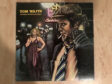 Tom Waits ‎– The Heart Of Saturday Night 1974 Asylum 7E-1015 Jacket/Vinyl VG+
