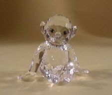 SWAROVSKI CRYSTAL CHIMPANZEE / CHIMP 221625 MINT BOXED RETIRED RARE