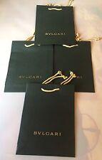 Authentic Bvlgari Dark Green Paper Gift Bag