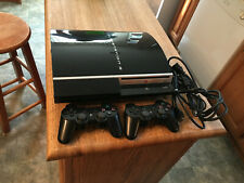 New listing Ps3 120gb Fat System with Rebug Mod Custom Firmware With Games!