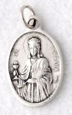 ST BARBARA Catholic Saint Medal patron architects carpenters firefighters masons