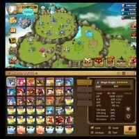 Summones war account - lvl 50 - Global server -  5x 6*