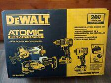 Dewalt DCK489D2 Atomic 20V Cordless Brushless 4-Tool Combo Kit