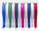 Full Reel Quality Grosgrain Ribbon 6mm 10mm 15mm 25mm x 20meter CHOOSE COLOUR