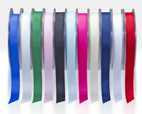 Full Reel Quality Grosgrain Ribbon 6mm 10mm 15mm 25mm x 20meter CHOOSE COLOUR