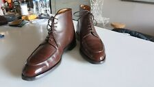 John Lobb Chambord II Boots 6.5UK 6.5 E Shoe Split Toe
