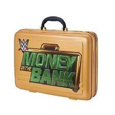 ARGENT DANS LE BANQUE COMMÉMORATIVE MALLETTE ÉTUI WWE CATCH RÉPLIQUE OFFICEL