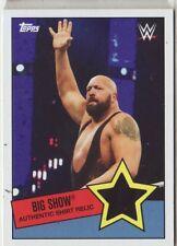2015 WWE Heritage Big Show shirt relic
