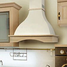 """New listing Nt Air Range Hood Wall Mounted Wood 36"""" Chr-114 Country Style Made in Italy"""