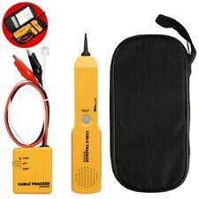Network Rj11 Line Finder Cable Tracker Tester Sender Electric Wire Tracer Bag