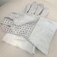 Heavy Duty Steel Rivet Work Gloves for Plumbers using Drain or Sewer Machines
