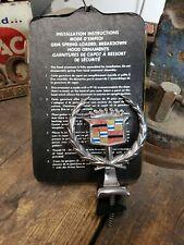 NORS 1980's 1990's Cadillac Hood Ornament DeVille Eldorado Caddy Shield Crest