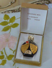 VTG NIB Early 1960s Corday TOUJOURS MOI Extrait Parfum 0.25 ¼ Oz w Red Label