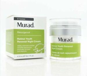 Murad Resurgence Retinol Youth Renewal Night Cream 50 ml 1.7 oz FACTORY SEALED