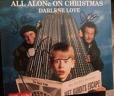 Home Alone 2 Original 1992 All Alone On Christmas Cd Single Signed Cd Coa