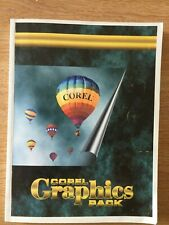 Corel Graphics Pack User's Manual Volume 1 First Printing (1995)