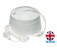 Ceiling Pull Cord Switch 10A 2Way Toilet Light Switches SN8300