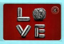 CHIPOTLE Burrito Love 2015 Gift Card ( $0 )