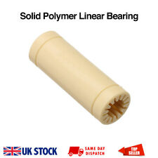 LM8LUU Solid Polymer Linear Bushing Bearing 8x15x45mm