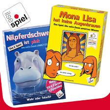 Ilsespiel» Mona Lisa Tiene Ninguna Cejas « & » Nilpferdschweiß Es Rosa «