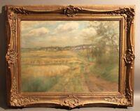 Erwin Starker (Stuttgart 1872 - 1938 Ditzingen) - Landschaft in Ditzingen