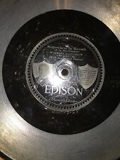 3 Edison Diamond Disc's, 2 re creations from Edison Labs &1 is an Edison Record
