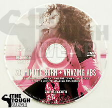ZUMBA dvd only 30 MINUTE BURN + ABS NEW shipped in jewel case for protection