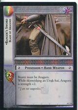 Lord Of The Rings CCG Foil Card TTT 4.U132 Ranger's Sword, Blade Of Aragorn