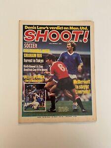 Shoot Magazine, Football, 14th March 1981, Rix, Power, Paddon.