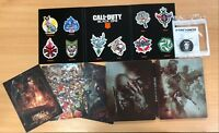 Call of Duty Blacks Ops 4 PC Pro Edition Steel Book Items - NO GAME, ITEMS ONLY