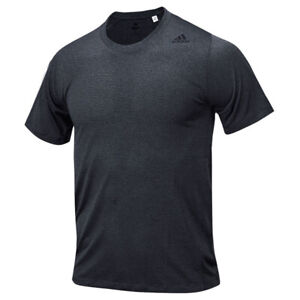 Adidas FreeLift Tech Climacool Fitted T-Shirt Breathable Training Grey DW9836