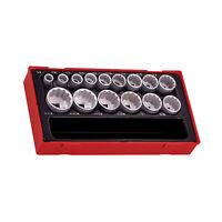 Teng Tools TT1215AF - 15 Piece 1/2 Inch Drive SAE Socket Set