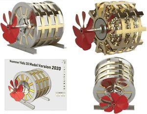Magnetmotor Muammer Yildiz - Lüling - Howard Johnson 3D Modell 2021 DVD