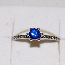 Ring mit geschliffenem Glasstein 19mm