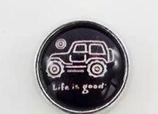 Life Is Good Jeep Charm Love Fits Origami Locket