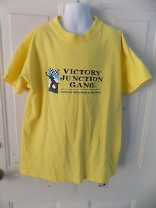Victory Junction Gang Yellow  T-Shirt Size M (10/12) Kids EUC