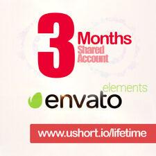 Envato Elements - 3 MONTHS LICENSE