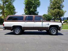 1985 Chevrolet Suburban 4X4 SUBURBAN SILVERADO 1/2 TON RUNS & LOOKS GREAT