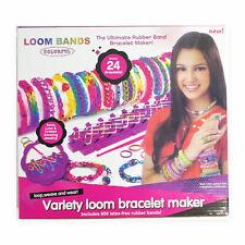 Rainbow Loom 600PCS Rubber Band Kit Craft Loom Band Box Large Kit Bracelet Maker