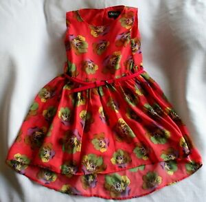 Miss CG girls pink sleeveless dress - age 5 years